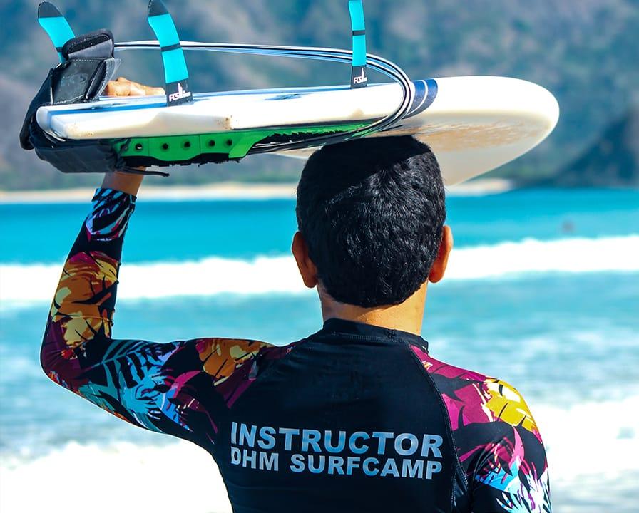 Surf Lessons in Kuta Lombok