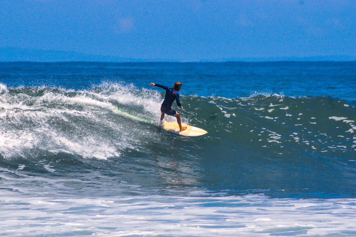 DHM Lombok Surf Guiding Lesson
