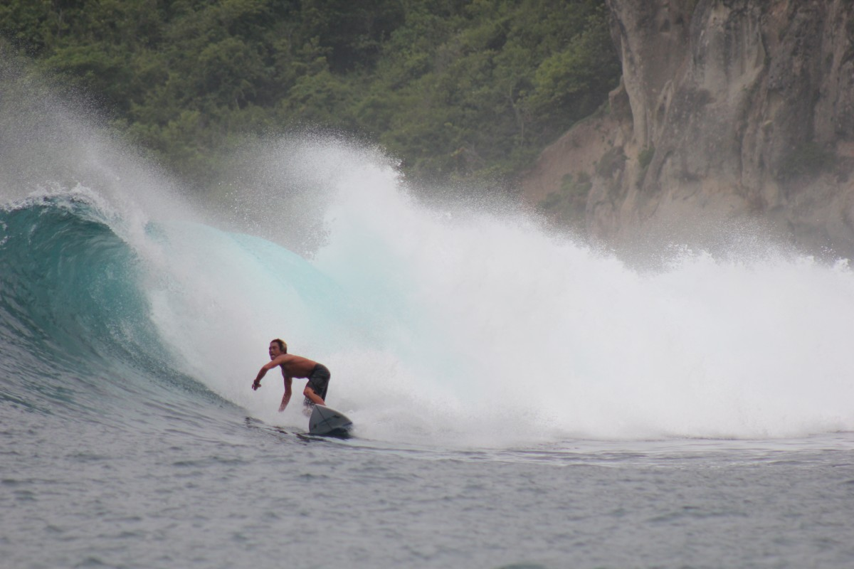 Bri Instructor DHM Surf Camp Lombok
