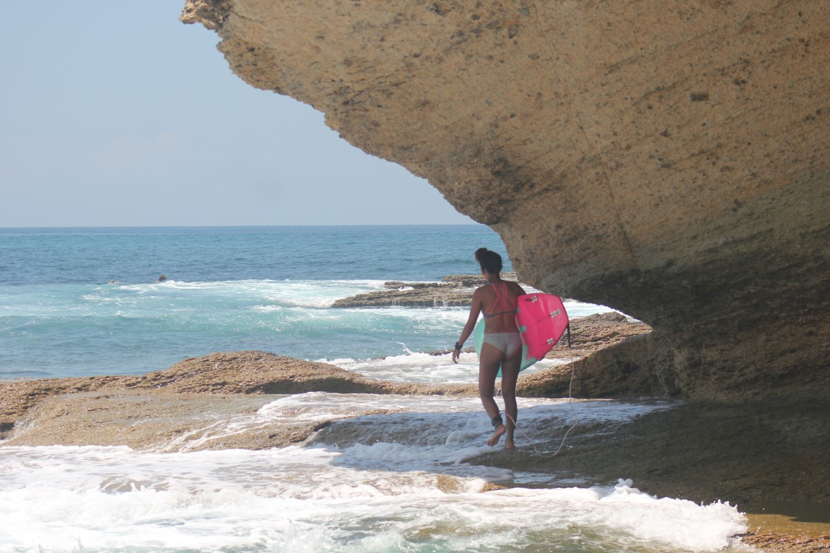 Surf in one of the many spots around Kuta Lombok