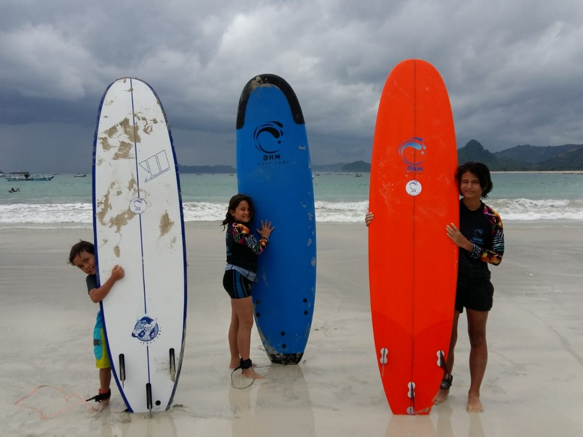 DHM Family Surf Camp Lombok