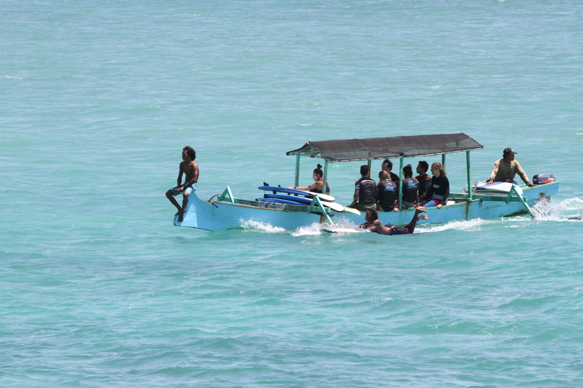 DHM Surf Boat trip Lombok