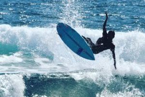 Dandy Surf Instructor Guide Lombok Indonesia